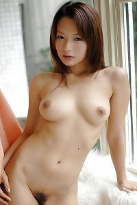 torrid chinese damsel with super-cute hard breasts